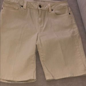 Michael Kors Tan Shorts